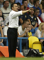 Photo: Aidan Ellis.<br /> Leeds United v Hartlepool United. Coca Cola League 1. 08/09/2007.<br /> Leeds manager Dennis Wise