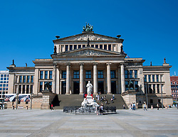 Konzerthaus or Concert House in Gendarmenmarkt in Mitte Berlin Germany