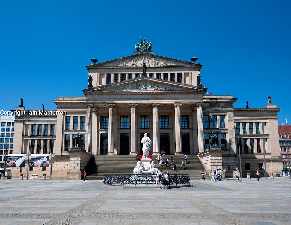 Konzerthaus or Concert House in Gendarmenmarkt in Mitte Berlin Germany