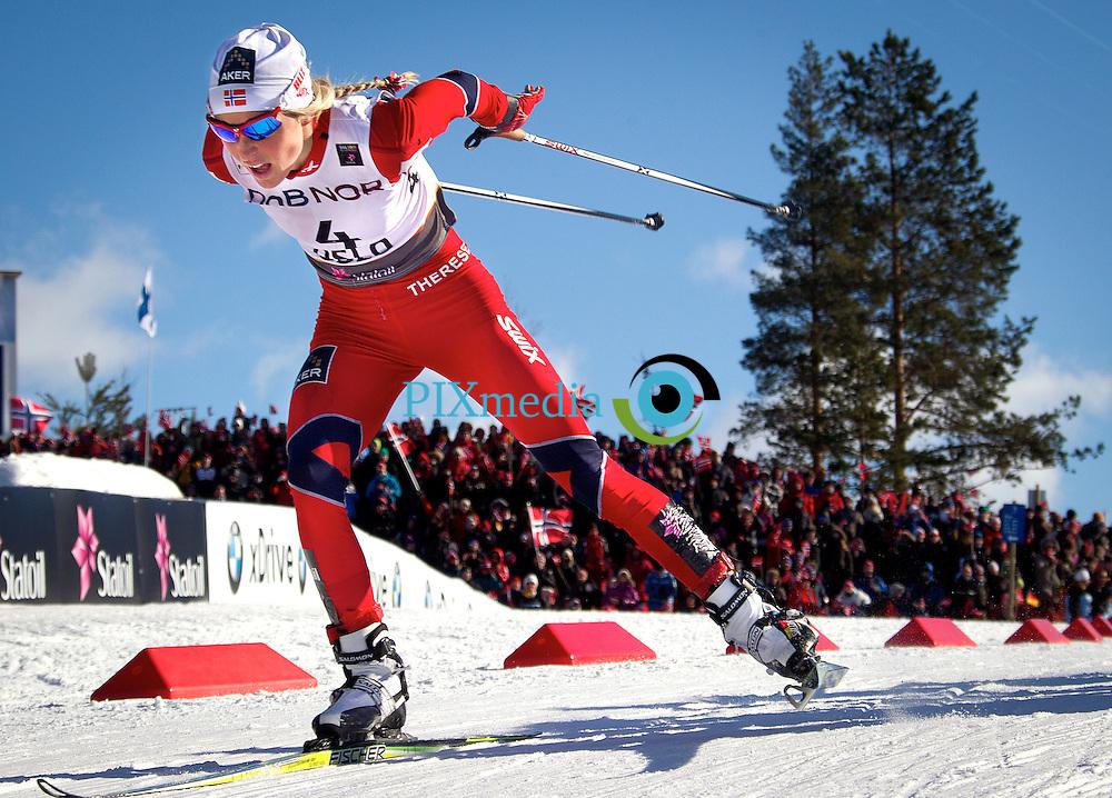 VM på ski Holmenkollen 2011.FOTO DAG W GRUNDSETH Therese Johaug