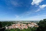 Blick auf Weinheim und Rheinebene, Baden-Württemberg, Deutschland | Overlooking Weinheim and Rhine valley, Baden-Württemberg, Germany