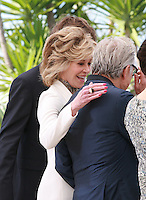 Actress Jane Fonda at the Youth film photo call at the 68th Cannes Film Festival Tuesday May 20th 2015, Cannes, France.