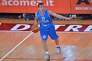 DESCRIZIONE : Trento Nazionale Italia Uomini Trentino Basket Cup Italia Olanda Italy Holland<br /> GIOCATORE : Andrea De Nicolao<br /> CATEGORIA : Palleggio Schema<br /> SQUADRA : Italia Italy<br /> EVENTO : Trentino Basket Cup<br /> GARA : Italia Olanda Italy Holland<br /> DATA : 11/07/2014<br /> SPORT : Pallacanestro<br /> AUTORE : Agenzia Ciamillo-Castoria/Max.Ceretti<br /> Galleria : FIP Nazionali 2014<br /> Fotonotizia : Trento Nazionale Italia Uomini Trentino Basket Cup Italia Olanda Italy Holland