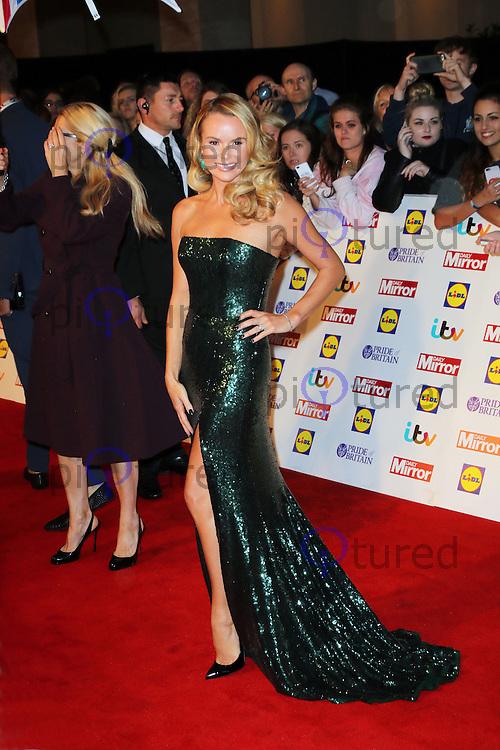 Amanda Holden, Pride of Britain Awards 2014, The Grosvenor House Hotel, London UK, 06 October 2014, Photo by Richard Goldschmidt
