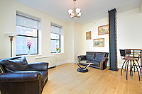 Living Room at 71 Nassau Street