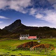 Galmisdale farm, Isle of Eigg