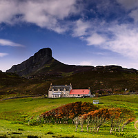 Galmisdale farm, Isle of Eigg
