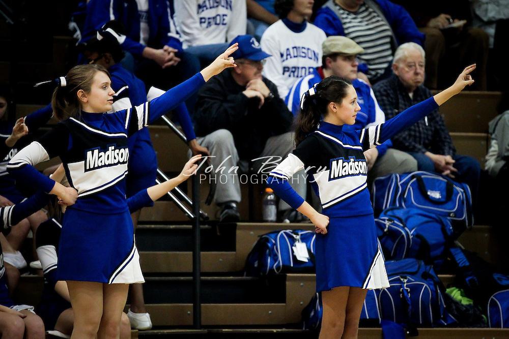 December/20/11:  MCHS JV Boys Basketball vs William Monroe.  Madison loses to Greene 49-36.