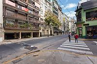 DEPARTAMENTO AMUEBLADO DE UN AMBIENTE EN EL BARRIO DE RECOLETA, CIUDAD AUTONOMA DE BUENOS AIRES, ARGENTINA (PHOTO BY © MARCO GUOLI - ALL RIGHTS RESERVED. CONTACT THE AUTHOR FOR IMAGE REPRODUCTION)
