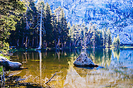 Sunrise at Twin Lakes near the Lodgepole Visitor Center in Sequoia National Park. What an amazing morning circling this lake and her streams taking photos.  Our backpacking trek got of to a slow start this day but it was worth it.
