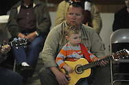 was among musicians playing at Blcackjack Connection at Blackjack Presbyterian Church near Sardis Lake on Monday, March 21, 2010.