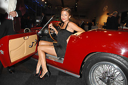 REBECCA LOOS at a preview of a forthcoming sale of cars from the Bernie Ecclestone Car Collection held at Battersea Evolution, Battersea Park, London SW11 on 30th October 2007.<br /><br />NON EXCLUSIVE - WORLD RIGHTS
