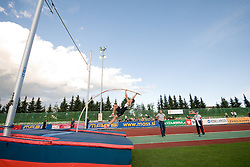 Lukas Bechyne during the men's pole vault at athletics meeting Ljubljana Grand Prix 2010 for 5th Memorial Matic Sustersic and Patrik Cvetan on August 29, 2010, in Ljubljana, Slovenia. (Photo by Matic Klansek Velej / Sportida)