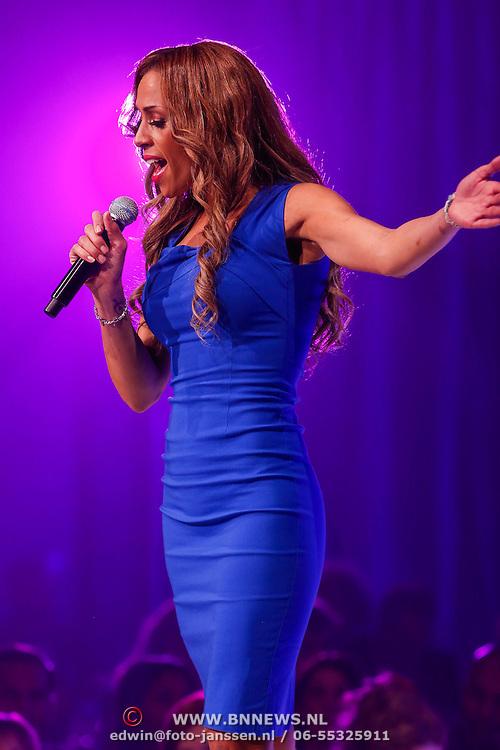 NLD/Bunnik/20121210 - Finale Miss Nederland 2012, Glennis Grace