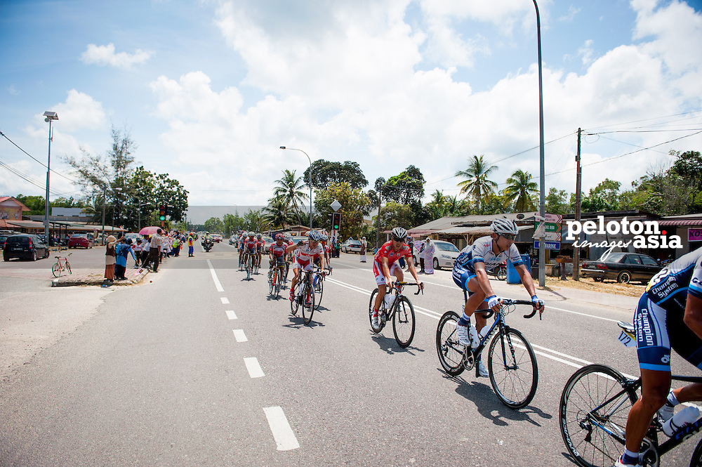 2014 Le Tour de Langkawi / stage8 / langkawi / GIANT-CHAMPION SYSTEM PRO CYCLING / HONG KONG National team