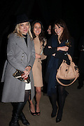 ANDREA BARRON; JODIE DALMEDA; JOANNA NATASEGERA, Fundraising Gala for the Zeitz foundation and Zoological Society of London hosted by Usain Bolt. . London Zoo. Regent's Park. London. 22 November 2012.