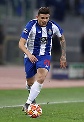 February 12, 2019 - Rome, Italy - AS Roma v FC Porto : UEFA Champions League Round of 16 .Francisco Soares of Porto at Olimpico Stadium in Rome, Italy on February 12, 2019. (Credit Image: © Matteo Ciambelli/NurPhoto via ZUMA Press)