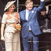 NLD/Amersfoort/20190427 - Koningsdag Amersfoort 2019, Koning Willem Alexander en Koningin Maxima