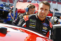 April 13, 2018 - Bristol, Tennessee, United States of America - April 13, 2018 - Bristol, Tennessee, USA: Matt DiBenedetto (32) climbs aboard his racecar to qualify for the Food City 500 at Bristol Motor Speedway in Bristol, Tennessee. (Credit Image: © Chris Owens Asp Inc/ASP via ZUMA Wire)