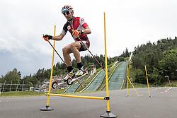 08.06.2016, Alpenarena, Villach, AUT, OeSV, Nordische Kombination, Trainingslager, Skiroller Technik- und Koordinationseinheit, im Bild Willi Denifl (AUT) // Willi Denifl of Austria during Skiroller technical and coordination unit Training of Austrian Ski federation Nordic Combined Team at the Alpenarena, Villach, Austria on 2015/06/08. EXPA Pictures © 2016, PhotoCredit: EXPA/ Johann Groder