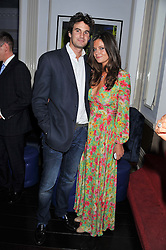 RUPERT FINCH and LADY NATASHA RUFUS ISAACS at a reception hosted by Beulah London and the United Nations to launch Beulah London's AW'11 Collection 'Clothed in Love' and the Beulah Blue Heart Campaign held at Dorsia, 3 Cromwell Road, London SW7 on 18th October 2011.