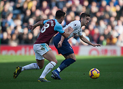 Ashley Westwood of Burnley (L) and Harry Winks of Tottenham Hotspur in action - Mandatory by-line: Jack Phillips/JMP - 23/02/2019 - FOOTBALL - Turf Moor - Burnley, England - Burnley v Tottenham Hotspur - English Premier League
