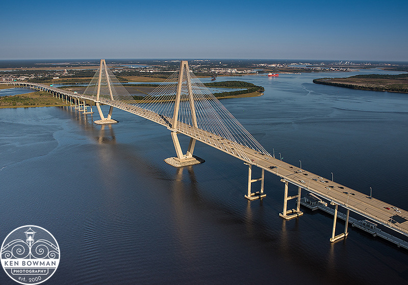 Ravenal Bridge Aerial #3