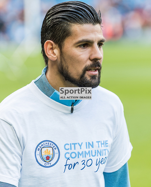Manchester City forward Nolito (9) before the Premier League match between Manchester City and Southampton<br /> <br /> (c) John Baguley | SportPix.org.uk