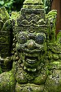 Stone scultpture at Damai Lovina Villas