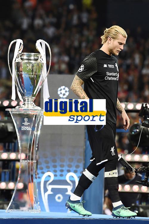 Loris Karius<br /> Kiev 26-05-2018 Kiev Olympic Stadium <br /> Football Champions League 2017/2018 Final Real Madrid - Liverpool Foto Matteo Gribaudi/Image Sport/Insidefoto