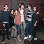 NLD/Amsterdam/20180212 - Setbezoek & castpresentatie Vals, Cast