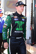 TUCSON, ARIZONA - MAY 07:  Gracin Raz, driver of the #27 Montana Tech, during practice for the NASCAR K&N Pro Series West NAPA Auto Parts Wildcat 150 at Tucson Speedway on May 7, 2016 in Tucson, Arizona.  (Photo by Jennifer Stewart/NASCAR via Getty Images)