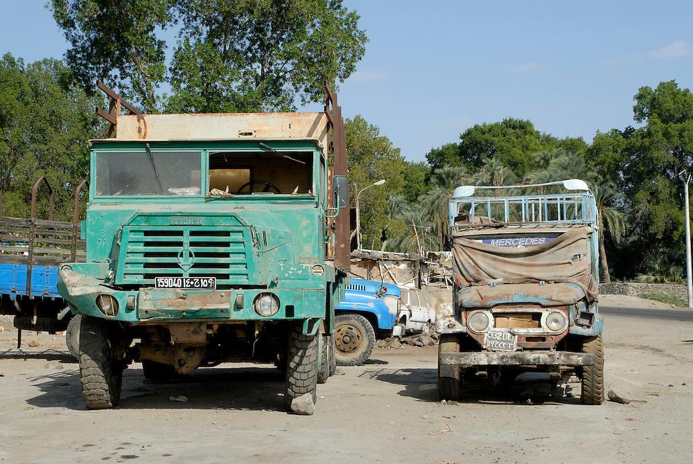 Rusty cars in Djibouti,Eastafrica