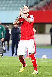 24.03.2017, Ernst Happel Stadion, Wien, AUT, FIFA WM 2018 Qualifikation, Oesterreich vs Moldawien, Gruppe D, im Bild Marko Arnautovic (AUT) // during the FIFA World Cup 2018, group D qualifying match between Austria and Moldova at the Ernst Happel Stadion in Wien, Austria on 2017/03/24. EXPA Pictures © 2017, PhotoCredit: EXPA/ Alexander Forst