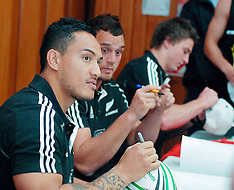 Whakatane-Rugby, Four All Blacks visit provincial areas