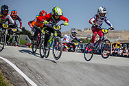 11 Boys #188 (DUBREUIL Matt) FRA and 11 Boys #6 (LAWRENCE Ryder) USA at the 2018 UCI BMX World Championships in Baku, Azerbaijan.