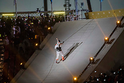 March 9, 2018 - Pyeongchang, U.S. - 09-03-2018 Pyeongchang, Korea ..Sport..Opening Ceremony of Pyeongchang 2018 Paralympic Games...In the photo: the  torchbearers a  rope climbing..HAN Min Su (KOR) (Photo by Mauro Ujetto/LaPresse/Icon Sportswire) ****NO AGENTS---NORTH AND SOUTH AMERICA SALES ONLY****NO AGENTS---NORTH AND SOUTH AMERICA SALES ONLY* (Credit Image: © Mauro Ujetto/Icon SMI via ZUMA Press)