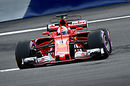 Sebastian Vettel of Scuderia Ferrari during the Austrian Formula One Grand Prix qualifying session at the Red Bull Ring, Spielberg<br /> Picture by EXPA Pictures/Focus Images Ltd 07814482222<br /> 08/07/2017<br /> *** UK &amp; IRELAND ONLY ***<br /> <br /> EXPA-EIB-170708-0002.jpg