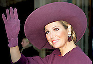 Queen Máxima opens Tuesday morning, October 13, 2015, the tenth edition of the Hands On! Conference