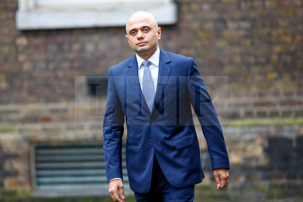 © Licensed to London News Pictures. 21/02/2017. London, UK. Communities and Local Government Secretary SAJID JAVID attends a cabinet meeting in Downing Street, London on Tuesday, 21 February  2017. Photo credit: Tolga Akmen/LNP