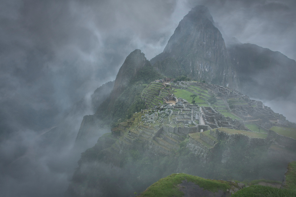 South America, Peru, Urubamba Provonce,Machu Picchu, UNESCO, World Heritage site