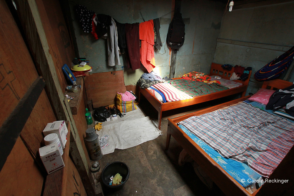 One of the rare shelters for people with HIV/AIDS. This particular shelter is run with the private money of three NGO workers.