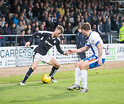 Dundee&rsquo;s Rory Loy runs at Kilmarnock&rsquo;s Lee Hodson - Dundee v Kilmarnock, Ladbrokes Scottish Premiership at Dens Park<br /> <br />  - &copy; David Young - www.davidyoungphoto.co.uk - email: davidyoungphoto@gmail.com