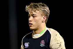 Richard Capstick of England U20- Mandatory by-line: Robbie Stephenson/JMP - 22/02/2019 - RUGBY - Zip World Stadium - Colwyn Bay, Wales - Wales U20 v England U20 - Under-20 Six Nations