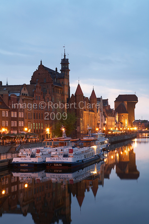 Poland Gdansk Inner Port