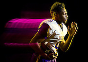 Bellevue West running back Jaylin Bradley poses for a portrait at Bellevue West High School on Thursday, Jan. 19, 2017, in Bellevue.<br /> <br /> MATT DIXON/THE WORLD-HERALD