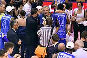 DESCRIZIONE : Campionato 2014/15 Serie A Beko Grissin Bon Reggio Emilia - Dinamo Banco di Sardegna Sassari Finale Playoff Gara7 Scudetto<br /> GIOCATORE : Romeo Sacchetti Pietro Colnago<br /> CATEGORIA : esultanza postgame<br /> SQUADRA : Banco di Sardegna Sassari<br /> EVENTO : Campionato Lega A 2014-2015<br /> GARA : Grissin Bon Reggio Emilia - Dinamo Banco di Sardegna Sassari Finale Playoff Gara7 Scudetto<br /> DATA : 26/06/2015<br /> SPORT : Pallacanestro<br /> AUTORE : Agenzia Ciamillo-Castoria/GiulioCiamillo<br /> GALLERIA : Lega Basket A 2014-2015<br /> FOTONOTIZIA : Grissin Bon Reggio Emilia - Dinamo Banco di Sardegna Sassari Finale Playoff Gara7 Scudetto<br /> PREDEFINITA :