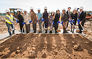 Groundbreaking ceremony at Westbury High School, February 16, 2017.