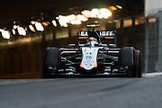 May 20-24, 2015: Monaco Grand Prix: Sergio Perez (MEX), Force India