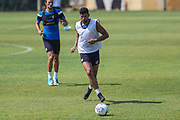 Forest Green Rovers Omar Bugiel(11) during the Forest Green Rovers Training session at Browns Sport and Leisure Club, Vilamoura, Portugal on 25 July 2017. Photo by Shane Healey.